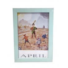 Månadsbild - April, Beskow A4 TAVLA