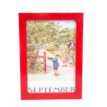 Månadsbild - September, Beskow A4 TAVLA