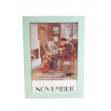 Månadsbild - November, Beskow A4 TAVLA