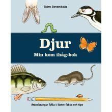 DJUR Min kom ihåg-bok